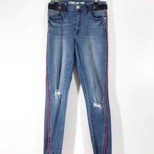Seven 7 Mid Rise Skinny Ankle Size 6